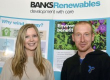 PR photography for Banks Renewables by Edinburgh PR agency Holyrood Partnership