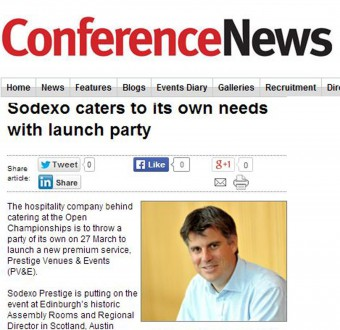 Conference News Sodexo Coverage