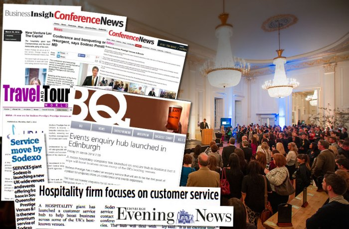 Scottish PR agency helps to tell story of Sodexo's new enquiry hub, resulting in a successful haul of coverage