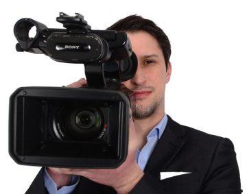 Videographer Craig Sinclair