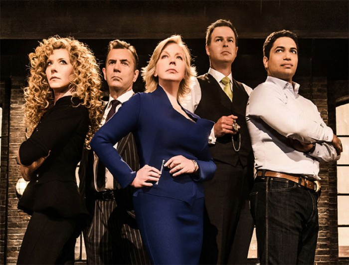 The multi-millionaire investors from BBC TV's Dragons' Den