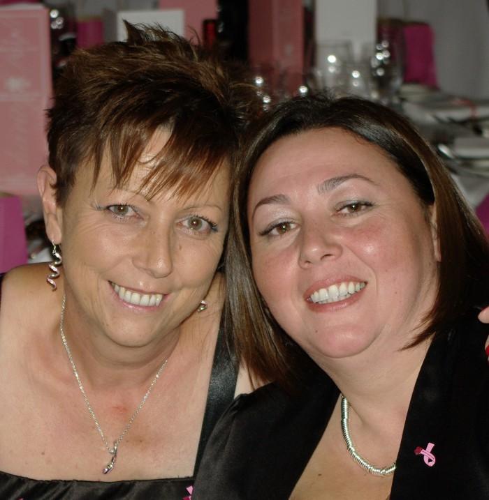 Scottish PR photography Debbie Dean and sister Rosean headshot for Bield