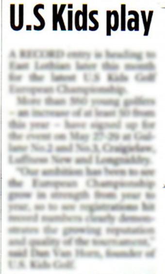 08 MAY Edinburgh Evening News PG 51 CROP