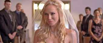 A PR still from rom com Serial Daters Anonymous, with Scottish actress Louise Linton in the lead role