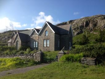 Isle of Barra school house