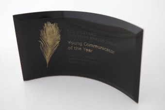 The PR Award for oustanding young communicator in 2006 was awarded to PR agency Holyrood PR