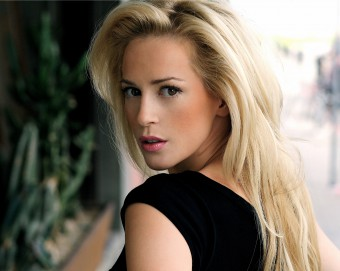 A public relations photo of Scottish actress Louise Linton, who works with public relations agency Holyrood PR
