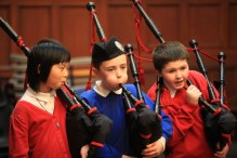 PR photography for school piping campaign