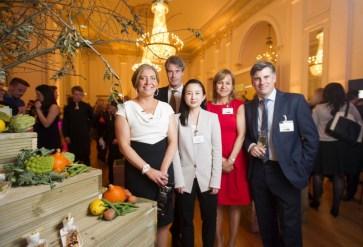(Left to Right) Amanda Brown, Chris John, Yoon Chang, Deniz Inceer, Austin Tilsley