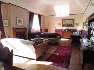 Blarich Schoolhouse living room