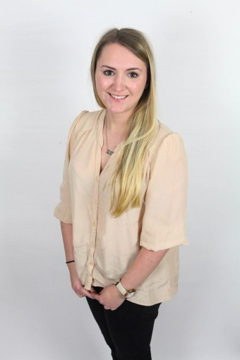 Public relations digital account executive Sarah Fairley