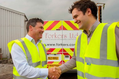 Banks and Forkers Working Together