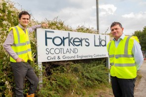 Forkers Ltd is benefitting from the development plan