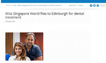 Miss Singapore dental practise