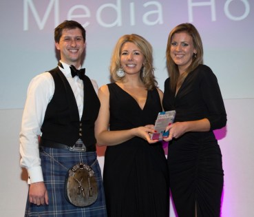 Public relations agency in Edinburgh, Scotland, wins five PR awards at 2014 CIPR Scotland PR awards