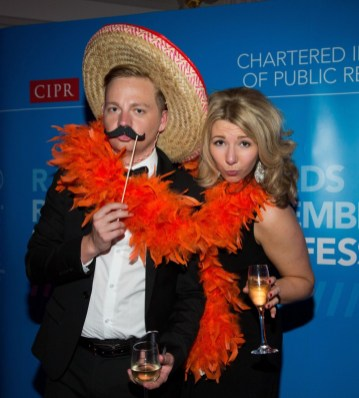 Staff at award winning PR agency celebrate winning five PR awards in 2014