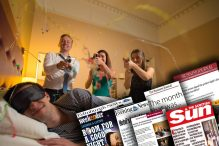 """Montage of media coverage showing Hotel PR success for Scottish hotel with dedicated """"quiet zone"""""""