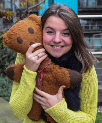 Edinburgh PR account executive Vickie Henry tell her toy story