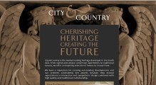 City & Country website