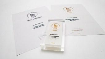 Fresh awards trophies