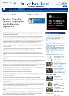 Scottish PR agency help Scottish law firm dominate headlines