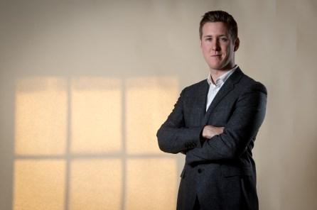 Chris Fairbairn of public relations agency, Holyrood PR in Edinburgh, Scotland
