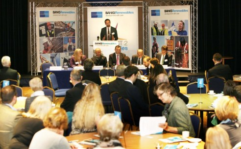PR photography by Holyrood PR in Edinburgh for Banks Renewables