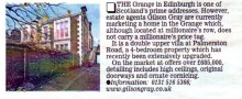 Media coverage in the Times for Gilson Gray legal firm thanks to award winning PR