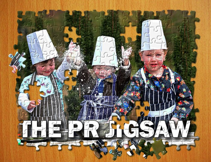 Public relations is a jigsaw made up of different PR services.