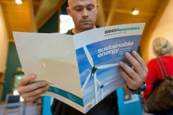 Public relations agency in Edinburgh getting local media coverage for renewable energy group