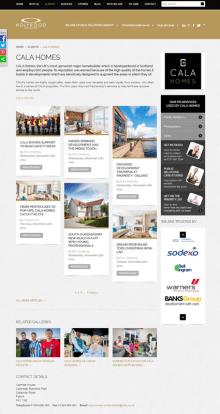 Edinburgh PR agency creates client hub for each client