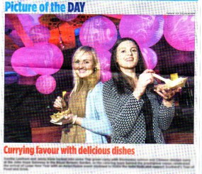 Edinburgh Evening News coverage of food and drink pr story