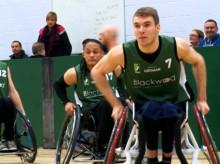 Lothian Phoenix Wheelchair Basketball Blackwood Edinburgh PR Client