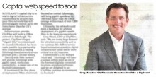 Edinburgh PR agency gets coverage for business client