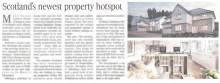 Scottish PR agency get coverage for luxury home builder