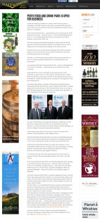 www.maltmarketing coverage for food and drink pr story