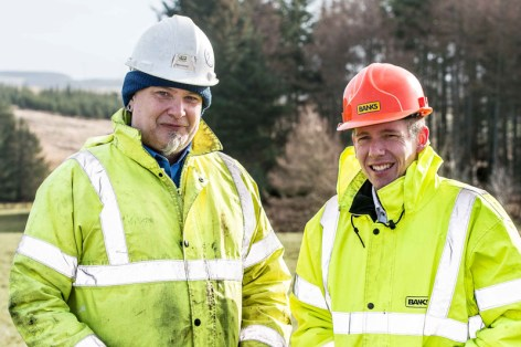 Banks Renewables' senior business development manager, Miles Cro