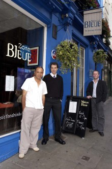 MAISON BLEUE for food and drink pr story