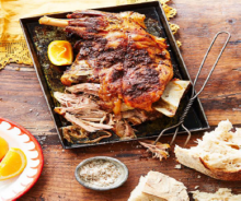 Bedouin Mechoui Feast- food and drink pr