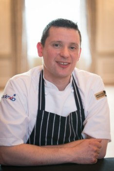 Chef Tom poses for food and drink pr story