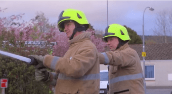 Care specialist turn home into training ground for firemen