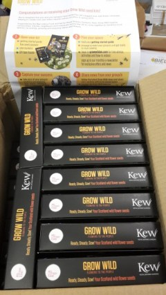 The Grow Wild Packs have been introduced to each of Bield's developments.