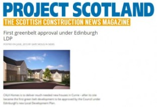 Project Scotland, CALA Homes Coverage, Currie
