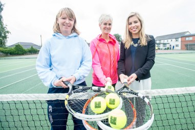 A Judy Murray backed initiative which aims to eradicate tennis' elitist status by providing coaching to children has been giving a helping hand thanks to a £1000 donation from CALA homes. Perth based Scottish Tennis Holidays offer coaching, equipment and scholarships to youngsters and also aims to help those who may not otherwise get a chance to discover the game. For more than 19 years the club has been providing tennis coaching, weeklong tennis and multisport courses in and around Perth – located at Kinnoull Tennis Club, Perth, one of the leading clubs in the North County.years the club has been providing tennis coaching, weeklong tennis and multisport courses in and around Perth – located at Kinnoull Tennis Club, Perth, one of the leading clubs in the North County. (c) Wullie Marr/HPR For pic details, contact Wullie Marr........... 07989359845