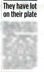 evening news blur of food and drink pr story