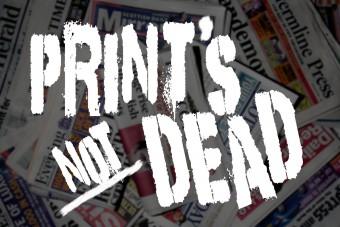 Holyrood PR in Edinburgh discuss print press revival
