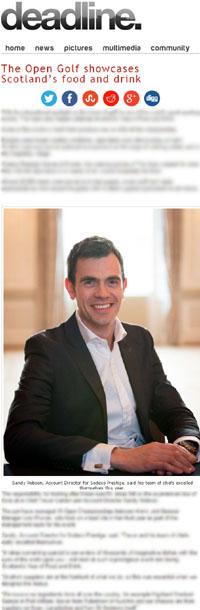 PR Agency in Edinburgh offers PR services for Sodexo Prestige