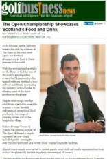Coverage for food and drink PR