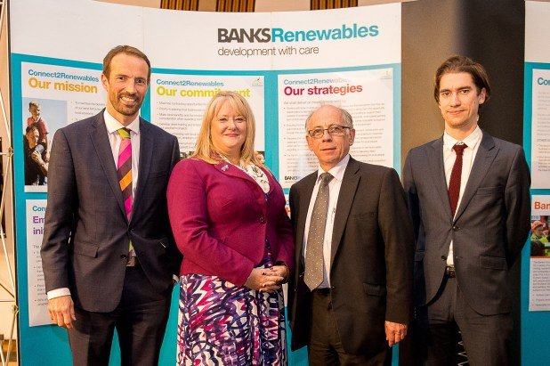 Connect2Renewables. Onshore wind farm event in Scottish Parliament.- HolyroodPR