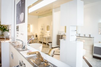 Boscolo Bathrooms showroom in Stockbridge